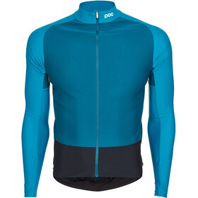 POC Essential Road Maillot à manches longues Homme, antimony multi blue